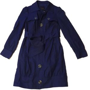 Stunning *Petite* Purple Trench Coat